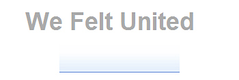 We Felt United